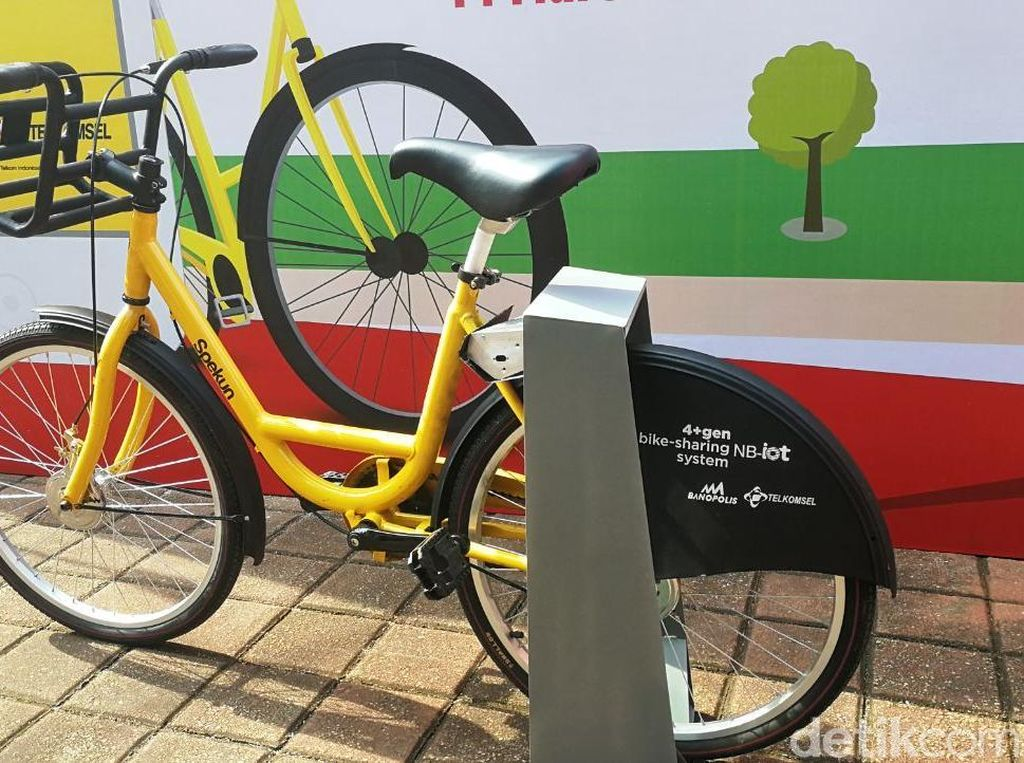 Kece Banget! Sewa Sepeda Canggih Via Apps di Kampus UI