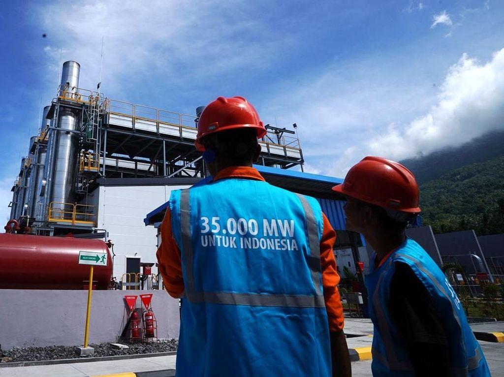 PLTG/MG MPP Ternate Perkuat Listrik 35.000 MW