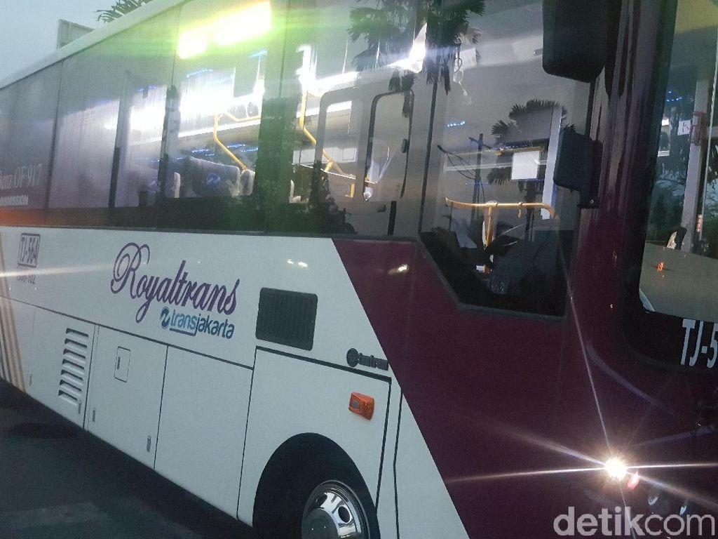 Jelang Uji Coba MRT, TransJ Segera Operasikan Rute Baru