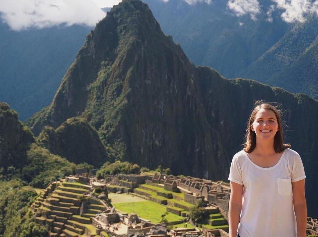 Foto: Gadis yang Keliling 100 Negara dalam 9 Bulan