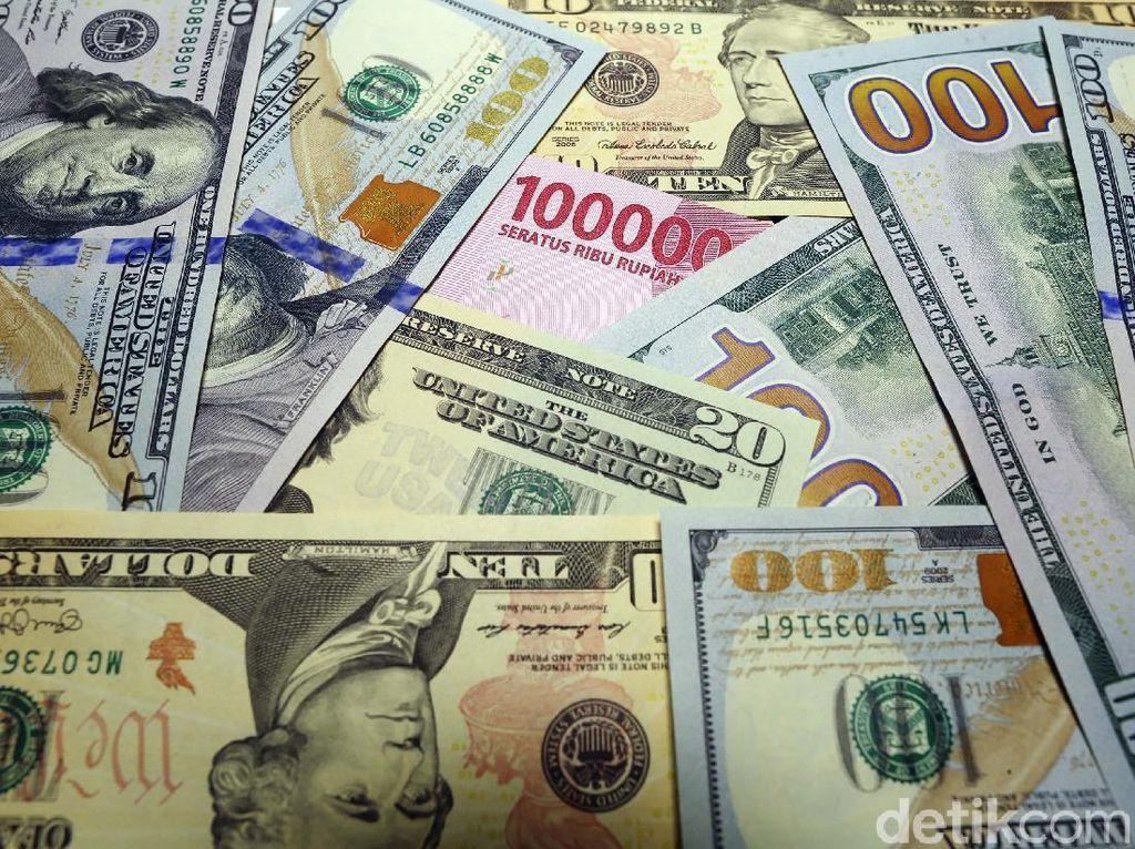 Digerus Dolar AS, Rupiah Masih Lebih Baik dari Won Hingga Rupee