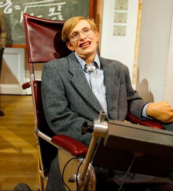 Stephen Hawking Madame Tussauds