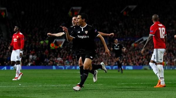 Kalahkan MU di Old Trafford, Sevilla Lolos ke Perempatfinal