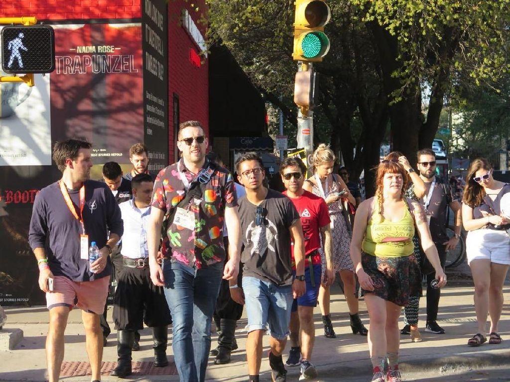 Mengintip Serunya Suasana Festival SXSW di Austin