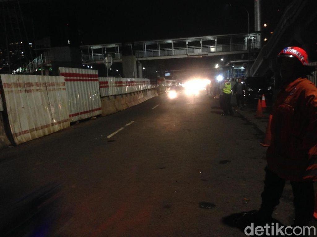 3 Jam Ditutup Akibat Gas Bocor, Jl MT Haryono Kembali Dibuka