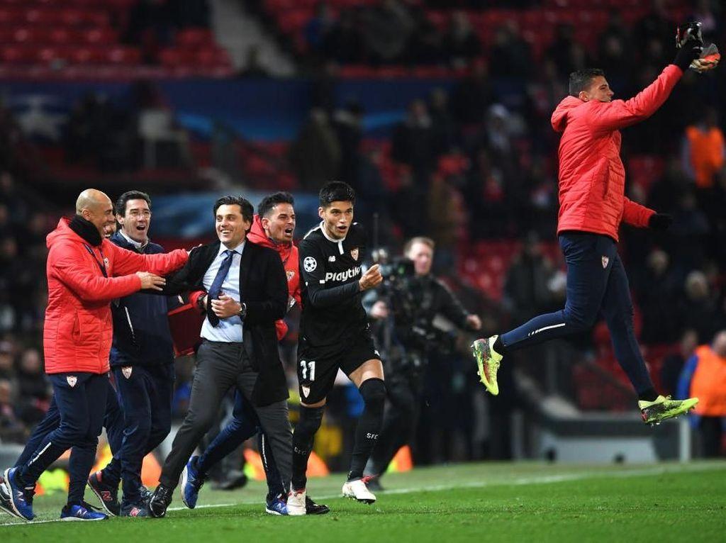 Montella Sebut Sevilla Layak Kalahkan MU yang Luar Biasa