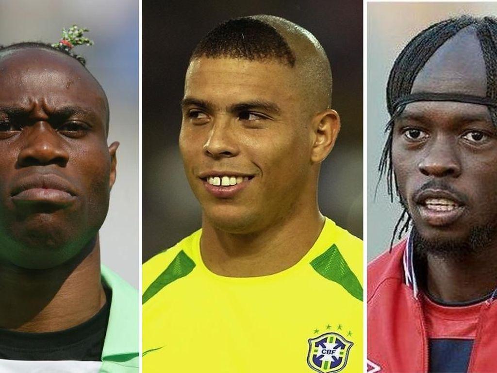 Fellaini, Ronaldo, dan Pesepakbola Bergaya Rambut Nyentrik Lainnya
