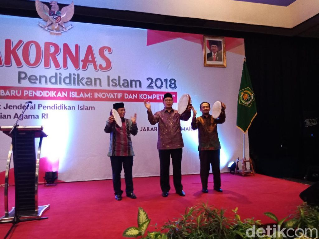 Menag Hadiri Rakornas Pendidikan Islam di Ancol