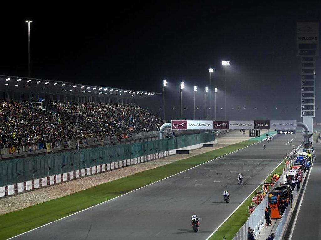 Imbas Corona: Rossi Cs Batal Ngebut di Qatar, Pebalap RI Moto2 Tetap Lanjut?