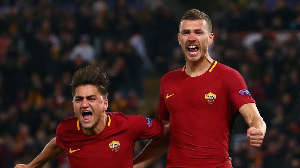 Roma Bidik Finis Dua Besar di Liga Italia 2018/2019