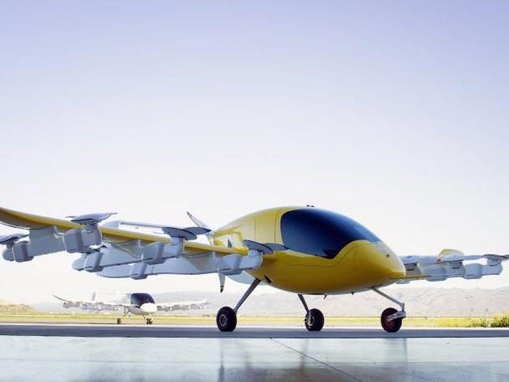Taksi Terbang Bos Google Segera Mengudara