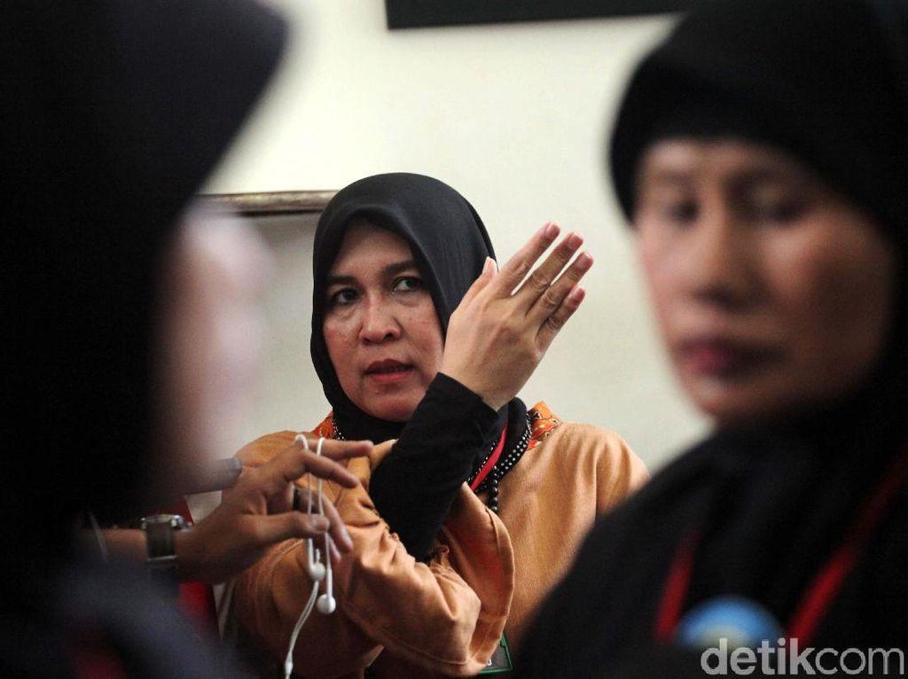 Ikut Demo Sukmawati, Asma Dewi: Keadilan Harus Ditegakkan