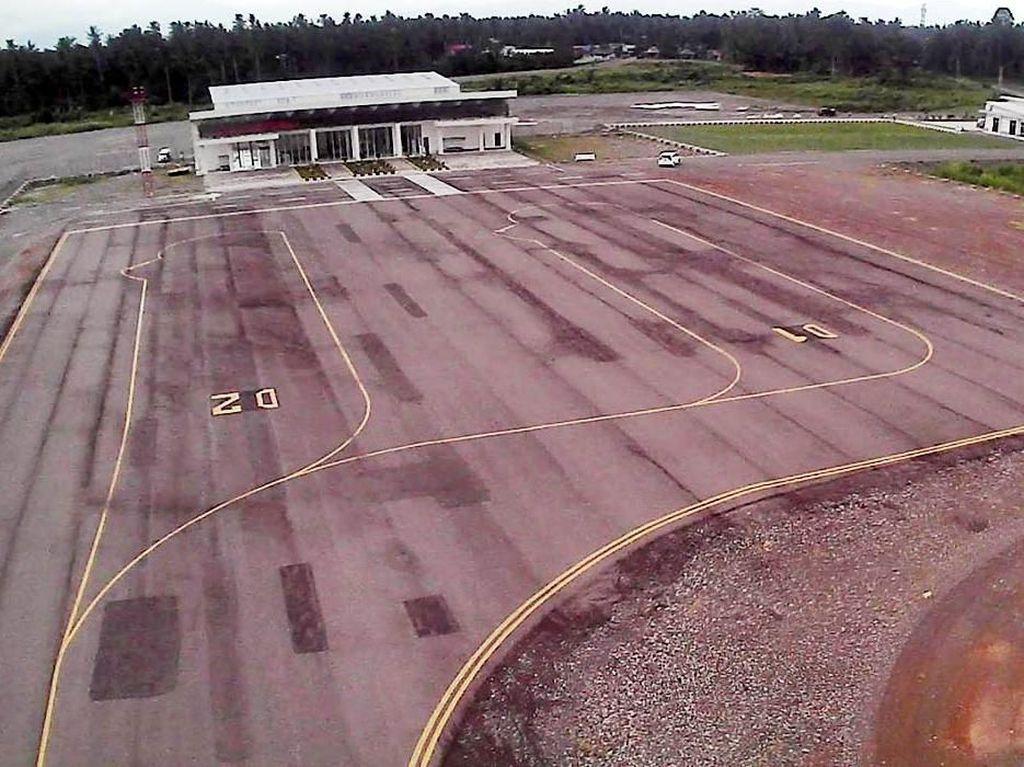 Keren! Ini Bandara Morowali yang Siap Diresmikan Jokowi