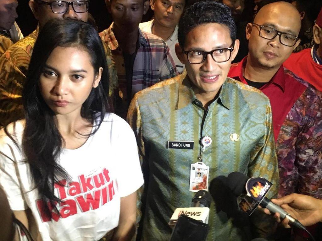 Sandiaga: Di Film Takut Kawin Jakarta Bersih Berkat Pasukan Oranye