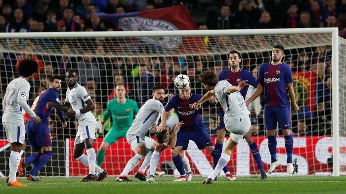Chelsea akan menghadapi Barcelona di laga pramusim sore nanti. (Foto: Lee Smith/Action Images via Reuters)