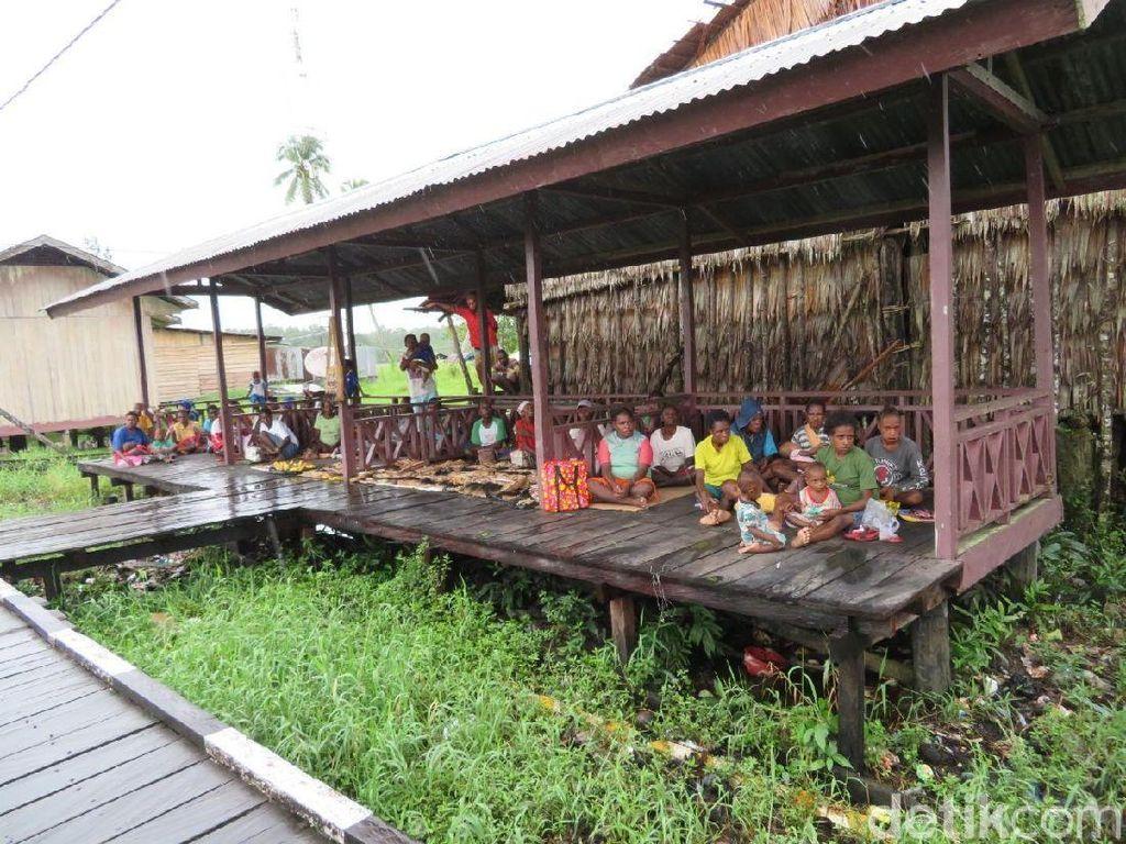 Potret Keseharian Warga Asmat Terkini