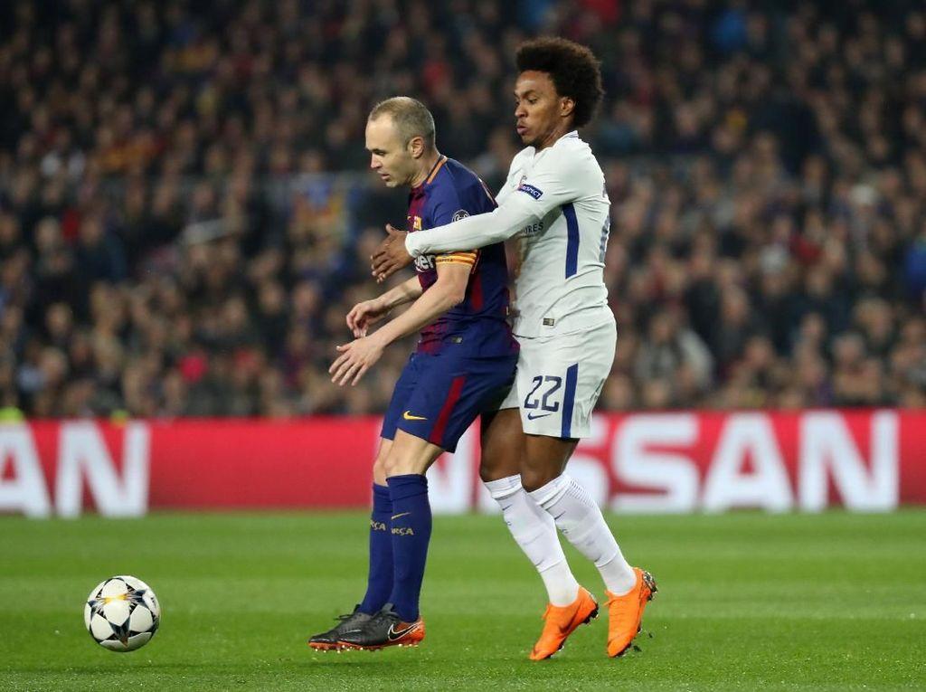 Iniesta: Barca Selalu Termotivasi Juarai Liga Champions