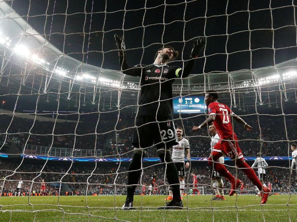 Tundukkan Besiktas 3-1, Bayern Mantap ke Perempatfinal