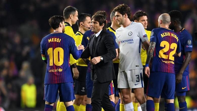 Conte: Karena Messi Bukan Cuma Top, tapi Super Top
