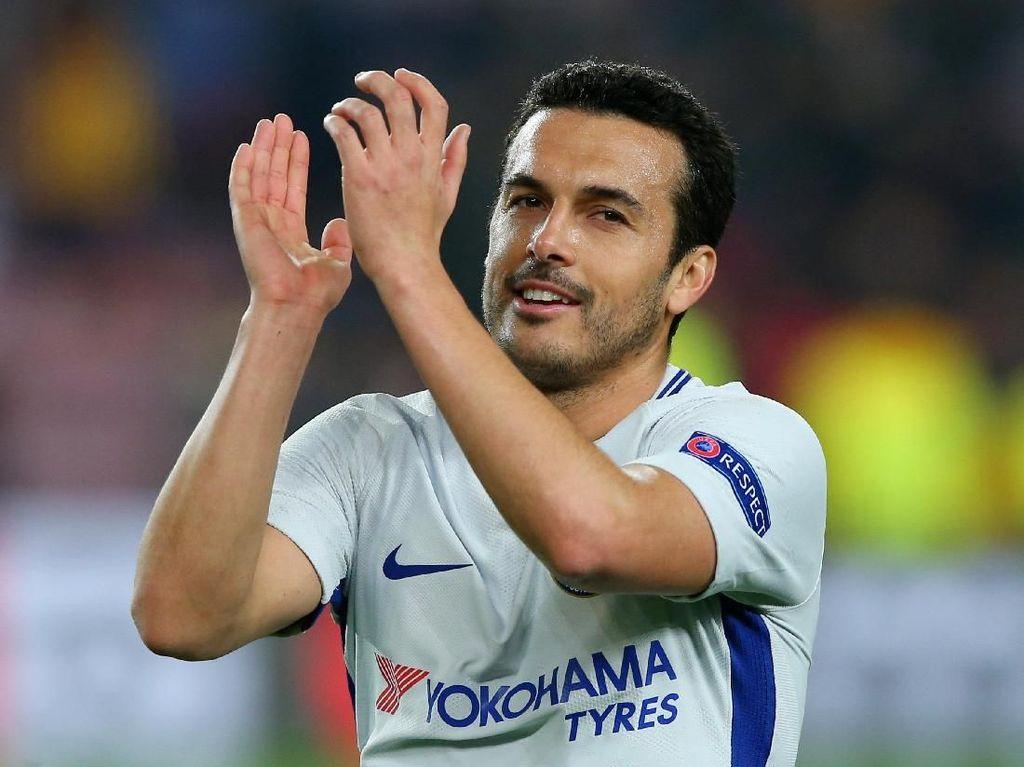 Pedro: Semoga Barca Juara Liga Champions