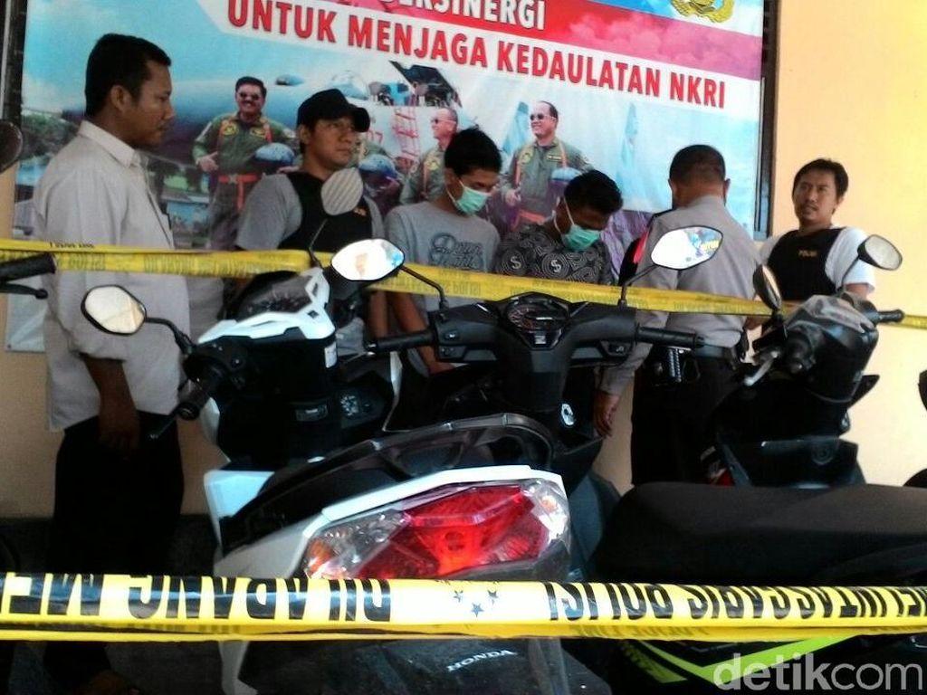 Tim Cyber Berhasil Bongkar Komplotan Curanmor di Jombang