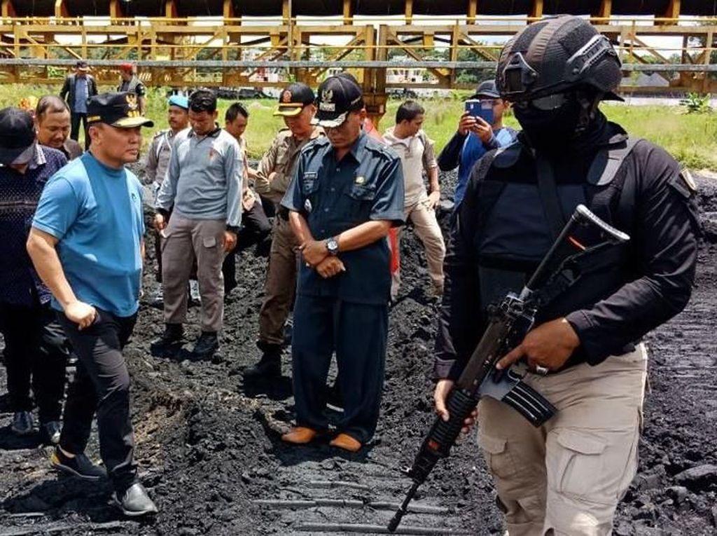Sidak Pertambangan Ilegal di Kalteng