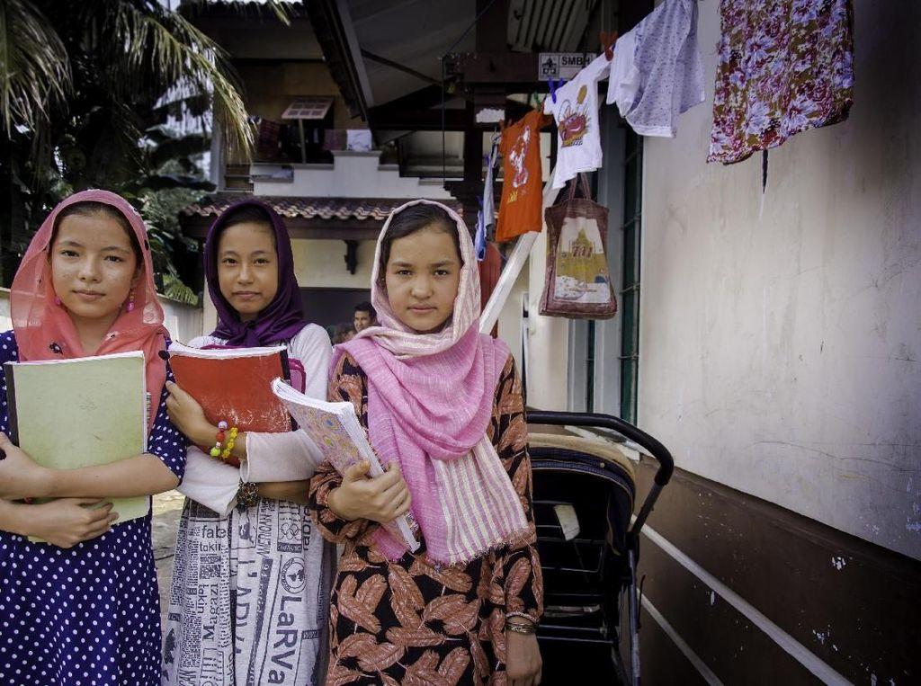 Potret Pendidikan Pengungsi Anak di Indonesia