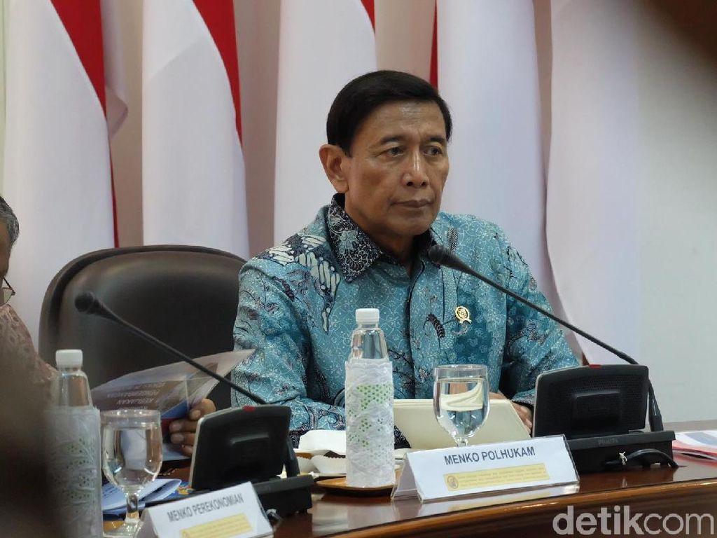 Wiranto: TNI Dilibatkan Tangani Terorisme Tak Perlu Diributkan