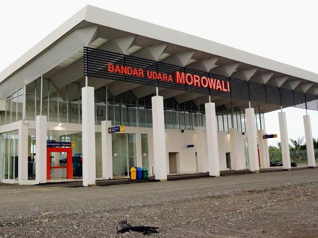 Jokowi Resmikan Bandara Morowali, Akses Wisata Sulteng Makin Mudah