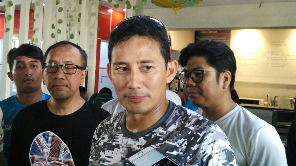 Persija Masih Cari Stadion, Wagub Sandi: Kasihan, Kita Cari Solusi