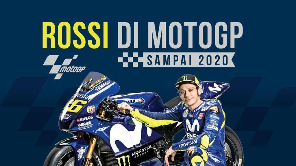 Rossi Belum Mau Berhenti dari MotoGP