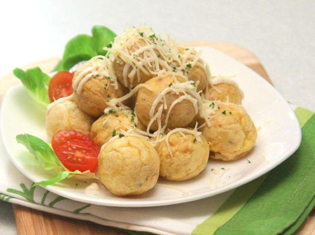 Takoyaki Sosis Veggie, Camilan ala Jepang yang Mudah Dibuat di Rumah