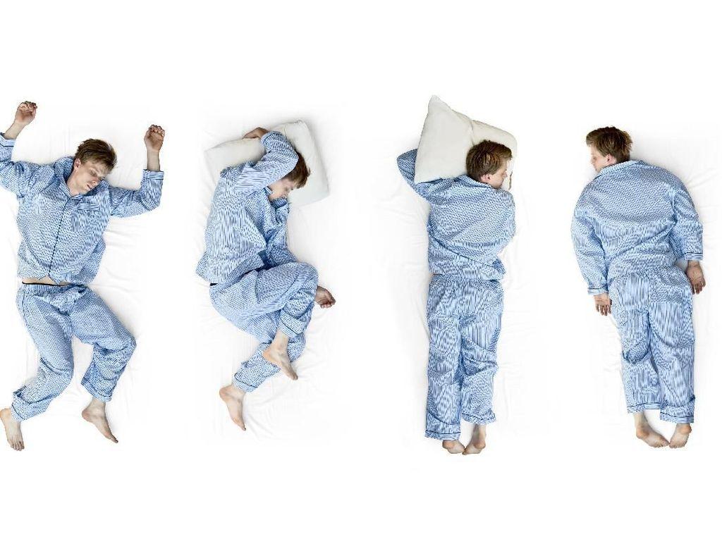 Hari Tidur Sedunia, Temukan Karakter Aslimu dari Posisi Tidur