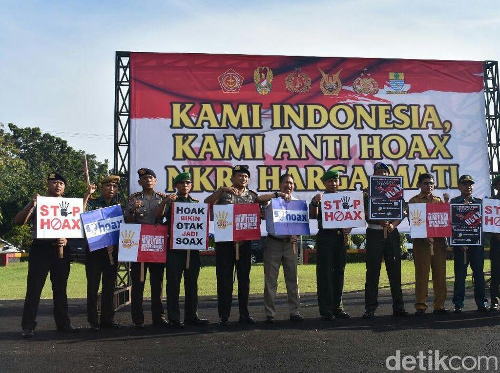 Polisi-TNI dan Pemkot Cirebon Deklarasi Lawan Hoax