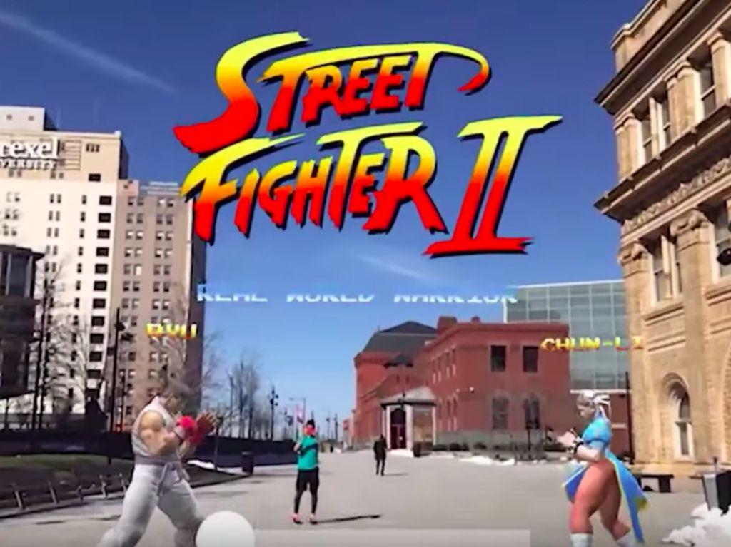 Berkat AR, Ryu dan Ken Bisa Berantem di Dunia Nyata