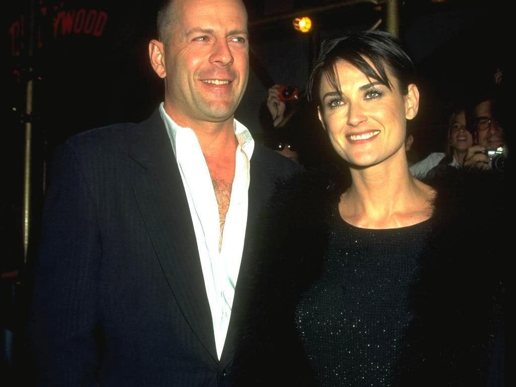 Hari Ayah, Demi Moore Unggah Foto Bruce Willis: Beruntung Bisa Memilikimu