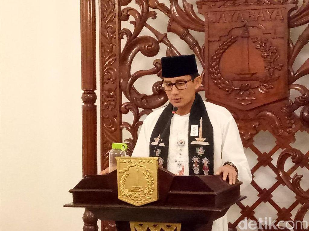 Sandiaga Rutin Laporkan Revolusi Putih ke Prabowo