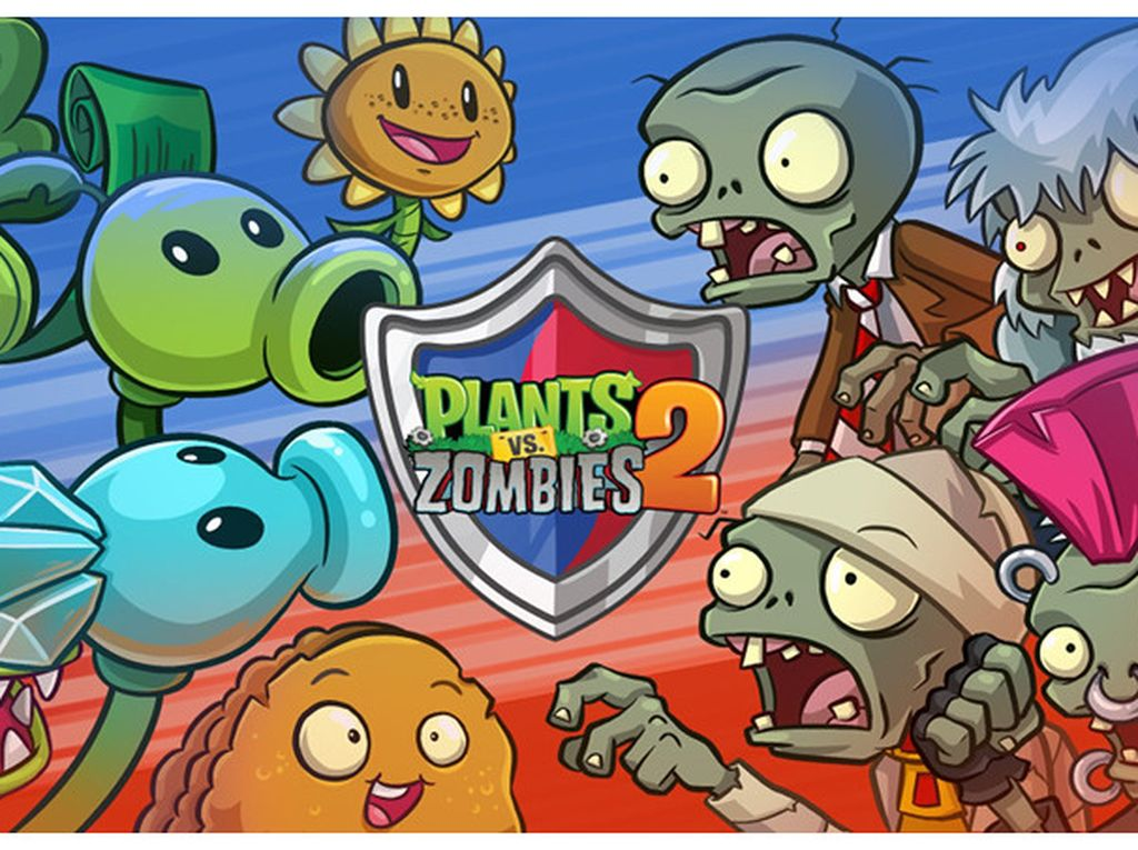 Plant vs Zombie 2 Sajikan Mode Multiplayer