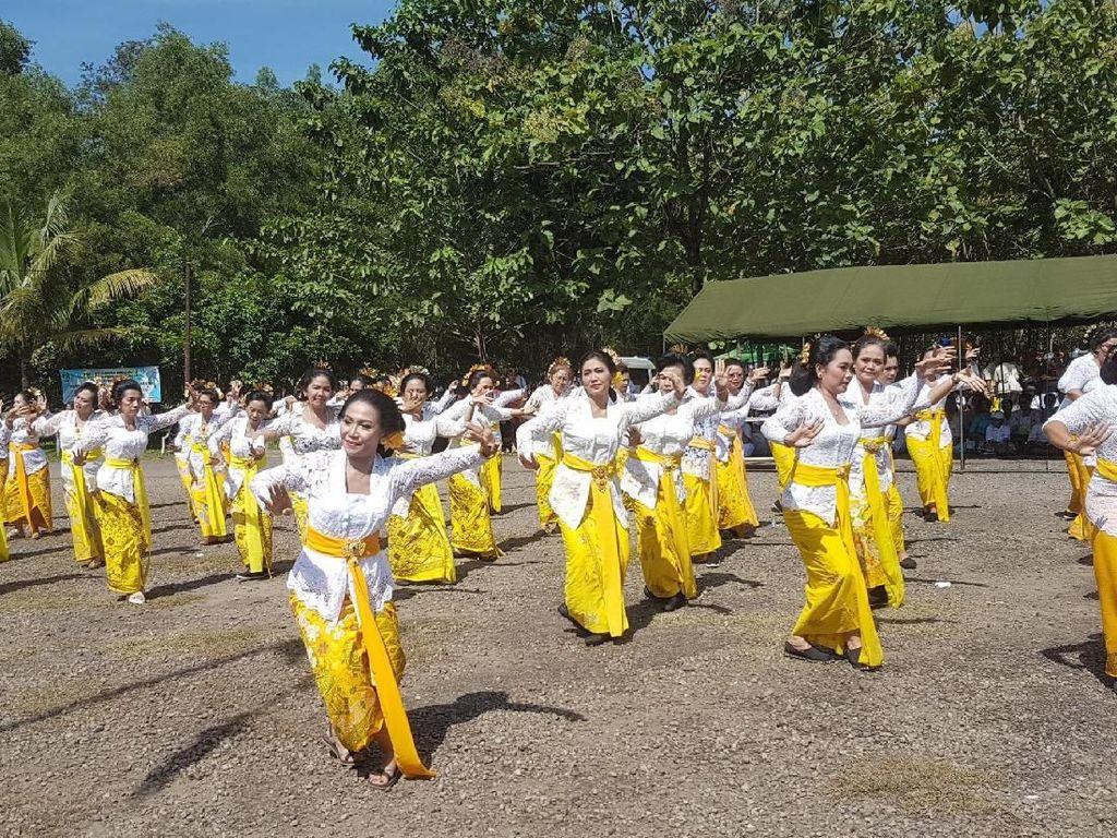 Jelang Nyepi, Umat Hindu Banten Gelar Upacara Tawur Kesanga