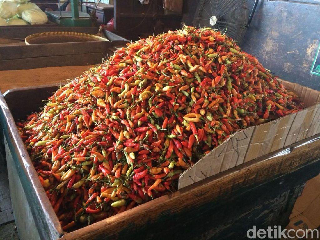 Kian Pedas, Harga Cabai Rawit Merah Tembus Rp 60.000/Kg