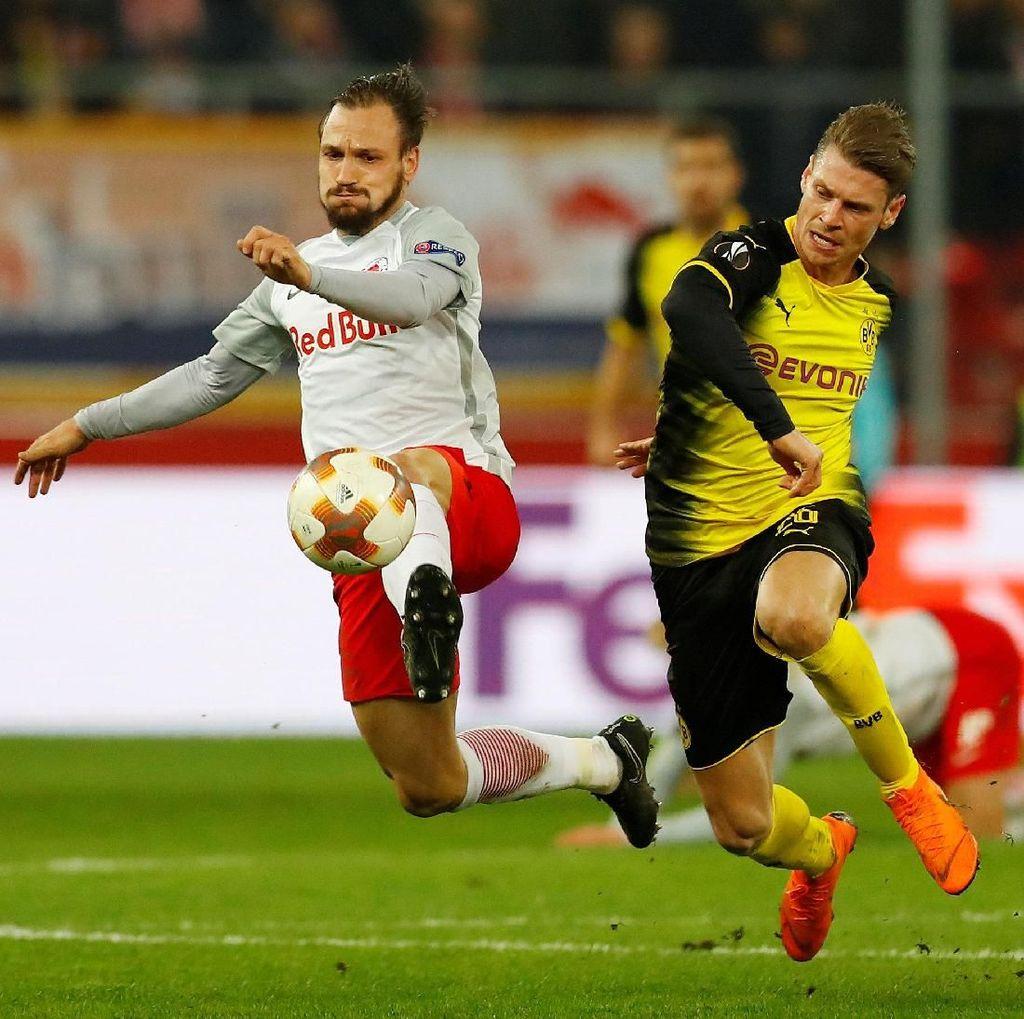 Ditahan Salzburg, Dortmund Tersingkir