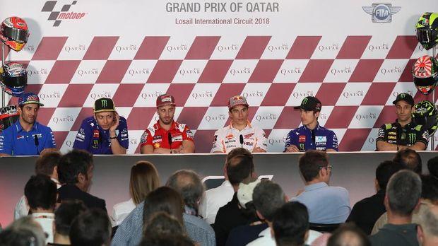Valentino Rossi tak mau memaafkan Marc Marquez usai MotoGP Argentina.