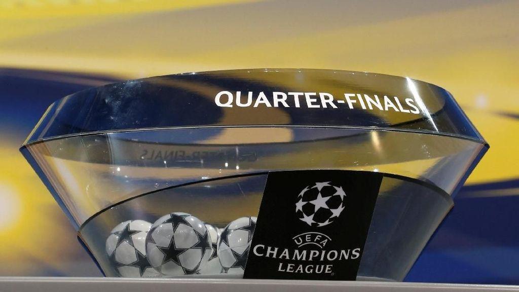 Foto: Drawing Liga Champions Babak Delapan Besar
