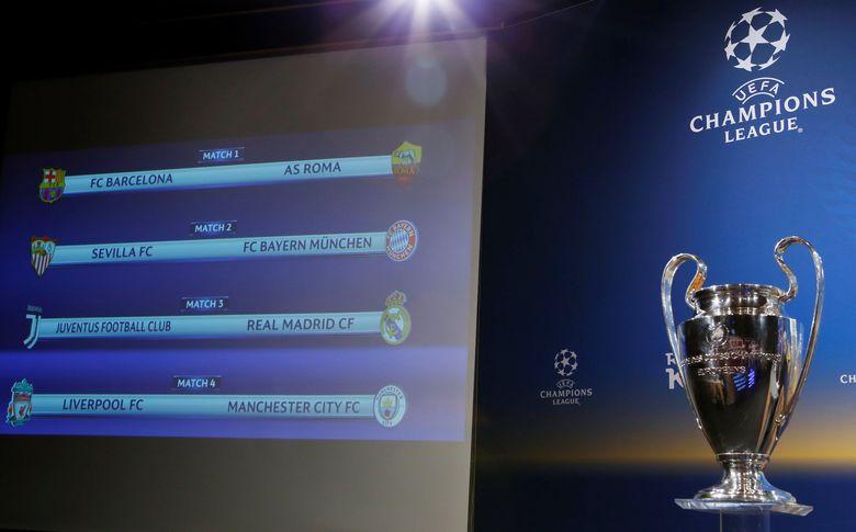 Siapa Paling Berpeluang Lolos ke Semifinal Liga Champions?