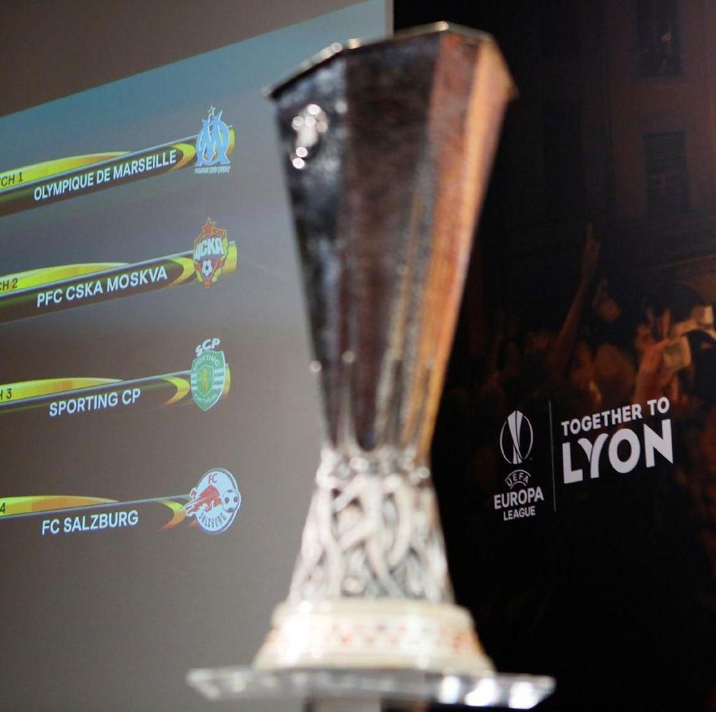 Drawing Liga Europa: Arsenal Jumpa CSKA, Atletico Ditantang Sporting
