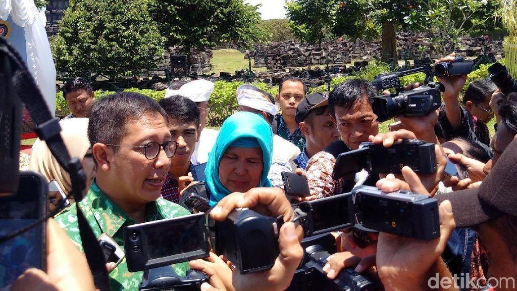 Ini Pesan Menag Saat Hadiri Perayaan Nyepi di Prambanan