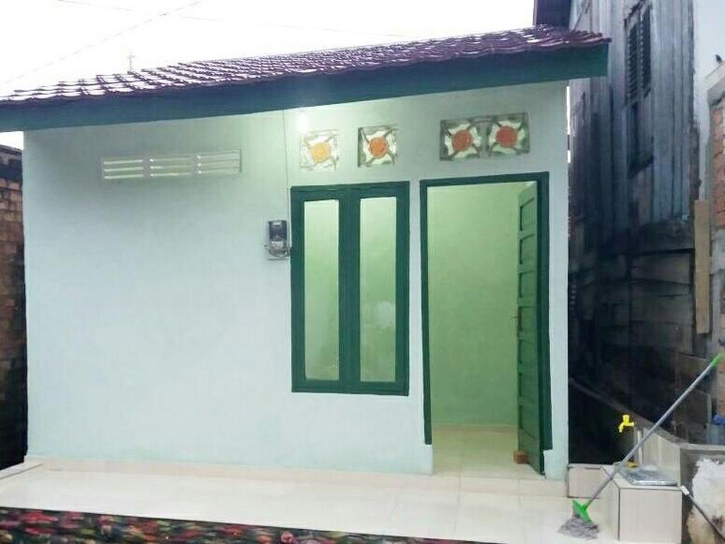 Foto: Before After Rumah Reyot Dewi Sesudah Dibedah TNI