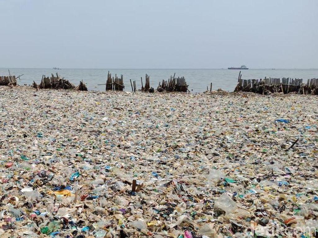 Kata Warga Blok Empang soal Lautan Sampah di Teluk Jakarta