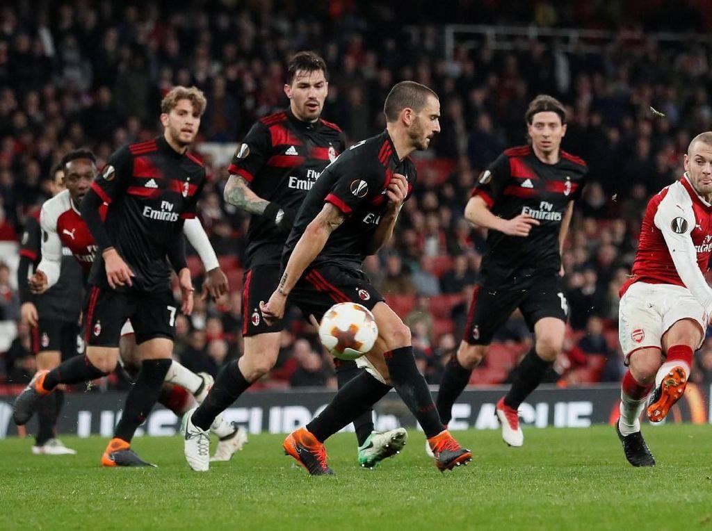 Foto: Arsenal Lewati Milan, Maju ke Delapan Besar Liga Europa