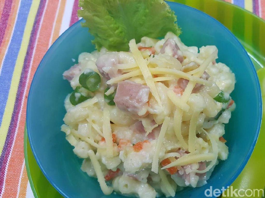 Resep Anak : Macaroni Keju Sayuran